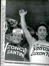 FRANCESCO MOSER Sanson cycling ciclista Bruno WOLFER Zonca team Giro Italy tour