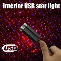 1 x Car Interior USB Roof Atmosphere Starry Sky Lamp NEW Light Night Star V5G5