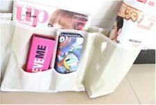 Room Bedside Hanging Caddy Pockets Storage Bag Bed Organizer Holder Shelf SO
