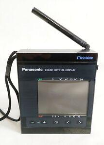 PANASONIC TC-L3G MINI VISION PORTABLE TV VINTAGE RARE