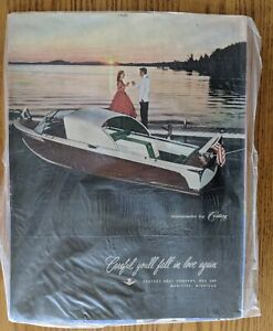 "Print Advertisement-Century Boat Company-1956-10 1/2 x 13 3/4"""
