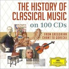 NEW History of Classical Music on 100 CD's (Audio CD)