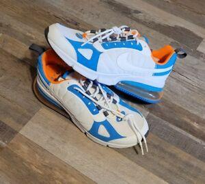 Nike Air Max 270 Futura Men's Running Shoes A01569-100 Size 8.5 Blue Orange