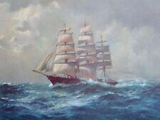 John Allcot, Cutty Sark, Sailing Ships From The Past.Sails. Ships.