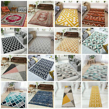 Modern Geometric Rugs Traditional Living Room Rug Small Large Rugs Hall Runners
