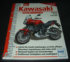 Reparaturanleitung Kawasaki Versys 650 ab 2007 Wartung Pflege Reparatur NEU!