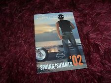 Catalogue/ Brochure HARLEY DAVIDSON Fashion Collection Spring/Summer 2002 //