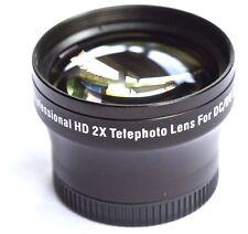 FOR SONY HVR-HD1000U PRO HD 2x TELEPHOTO LENS