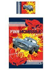 DISNEY Pixar Cars 2 reversibile-Biancheria da letto 135x200 Finn McMissile Spionaggio NUOVO OVP