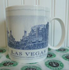 2006 STARBUCKS LAS VEGAS NEVADA ARCHITECT CITY MUG COLLECTOR SERIES MINT!