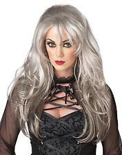 Dark Gothic Fallen Angel Rock Star Adult Costume Wig