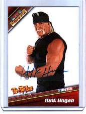 TNA Hulk Hogan H4 2010 Tristar New Era RED Authentic Autograph Card SN 4 of 9