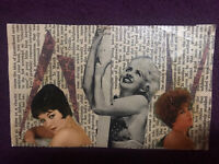 "Mail Art COLLAGE by Steve Camaro - Original Postcard Art ""YOU'LL PROBABLY RE..."""