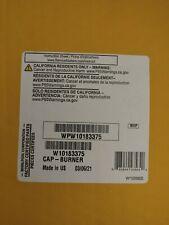 New listing Genuine Oem Whirlpool Range Surface Burner Cap Wpw10183375 New