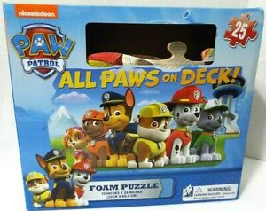 Nickelodeon Paw Patrol Foam Puzzle Soft And Large 13 Inches x 24 Inches NEW