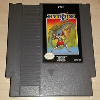 Hydlide Nintendo NES Vintage classic original retro game cartridge
