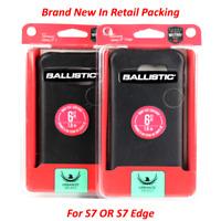Ballistic For Samsung Galaxy S7 & S7 Edge Black/Buffalo Leather Urbanite Case