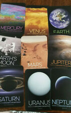 2019 SDCC COMIC CON EXCLUSIVE NASA PLANET CARD SET OF 9 EARTH MARS VENUS MOON