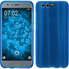 Coque en Silicone Huawei Honor 9 - mate bleu + films de protection
