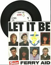 """Ferry Aid, Let it be , The Sun, VG/VG 7"""" Single 0263"""