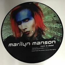 "Marilyn Manson Vinyl 10"" Ltd Picture Record"