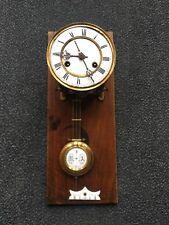 Alte Uhr Wanduhr Pendeluhr Regulator Uhrwerk  FMS Mauthe Defekt