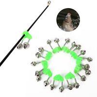 746|LED Lumière De Double Cloches-Alarme-Clochette-Morsure-Pêche à Canne-Nuit