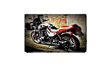 1982 katana Bike Motorcycle A4 Retro Metal Sign Aluminium