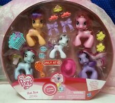 MY LITTLE PONY HAT BOX 2010 Target Exclusive  Pinkie pie rainbow dash 3 others