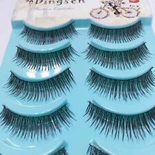 Cross Eye Lashes Extension Thick False Eyelashes Makeup Tool Handmade Cosmetic