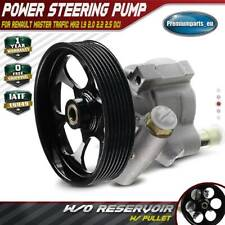 Power Steering Pump w/ Pulley for RENAULT MASTER TRAFIC MK2 1.9 2.0 2.2 2.5 DCI
