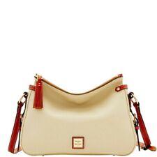 Dooney & Bourke Florentine Scarlett Crossbody Sac Shoulder Bag-white
