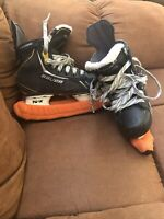 Bauer Supreme One.6 Junior Ice Skates Size 1.5 W/ Blade Covers