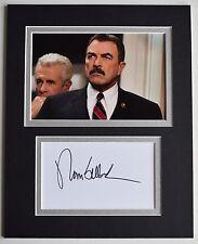 Tom Selleck Signed Autograph 10x8 photo mount display TV Blue Bloods AFTAL COA
