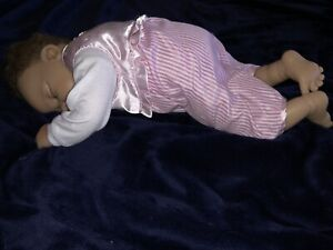 LINDA MURRAY SLEEPING POSABLE REBORN LIFELIKE BABY DOLL ASHTON DRAKE