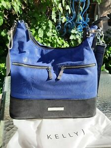 Kelly Moore NEW Camera Bag with Removable Basket Brownlee Indigo Waterproof
