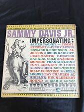 Sammy Davis Jr. - Impersonating - Vinyl Record.. - c7350c