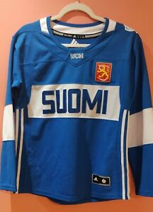 World Cup of Hockey Team Finland Suomi Women's ADIDAS replica jersey BLANK M