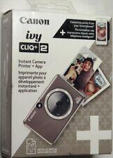Canon Ivy CLIQ+2 Instant Film Camera Metallic Mocha