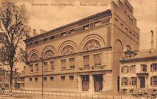 NEW HAVEN, CT Connecticut   GYMNASIUM~YALE UNIVERSITY   c1910's Sepia Postcard