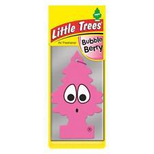 4 X Piccolo Magic Tree Deodorante Auto BUBBLE BERRY GUM Freshner 2D