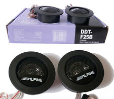 DDT-F25B ALPINE Balanced Dome Car Tweeters 60W Audio High Efficiency Speaker