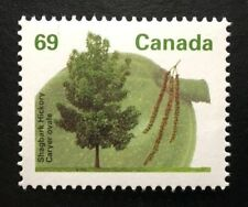 Canada #1369 HP MNH, Shagbark Hickory Tree Definitive Stamp 1994