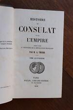 Histoire du Consulat et de l'Empire Napoléon I par Thiers 1856 Tome 14 Russie