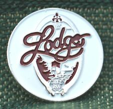 """RARE_Limited Edition_ The Lodge  1899  1"""" Ni-Silver Plated Ball Marker"""