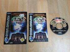 Sega Saturn: Mystery Mainson - Das Haus der verlorenen Seelen + OVP + Anleitung