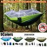 Bunt Ultraleichte Moskitonetz-Hängematte für Campingzelt im Freien mit Schlaf