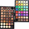 40 Farben tral Lidschatten Palette Eyeshadow Matt & Schimmer Augen Dekor H2L5
