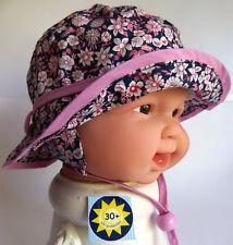 UV Schutz Sterntaler KU43 44 45 47 BINDEN Sonnen Hut Sommer Baby Mädchen rosa