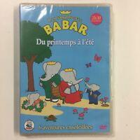 Les Temporadas con Babar Del Primavera a VERANO DVD Nuevo en Blíster c35